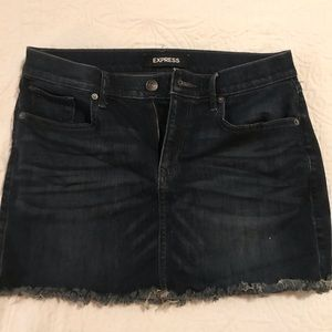Express Jean Skirt size 8